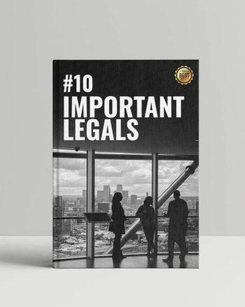 Important Legals #10 (anglais)
